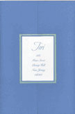 Pocket Folder Wings of Peace Blue - #1952