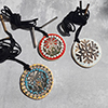 Click here for more information about Mandala Pendant Necklace - Random