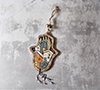 Click here for more information about Large Hamsa Hanging Home - Random
